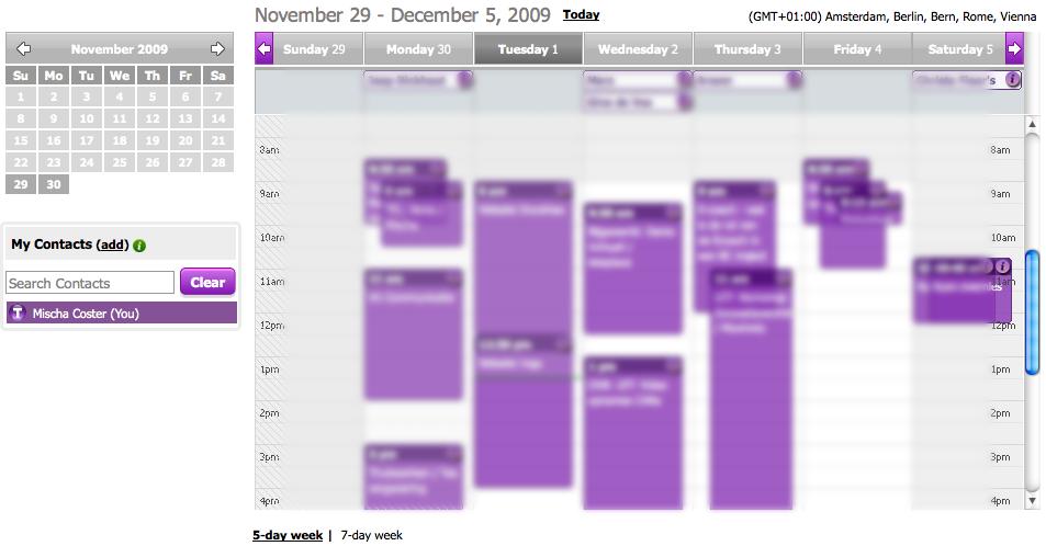 Tungle Calendar