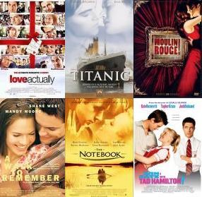 Romantiek Films